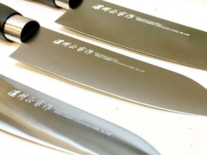 Сегодня стало модным делать ножи из титана. /Фото: yahoo.aleado.ru.