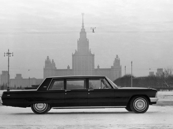 Автомобиль ЗИЛ 114 для элиты.
