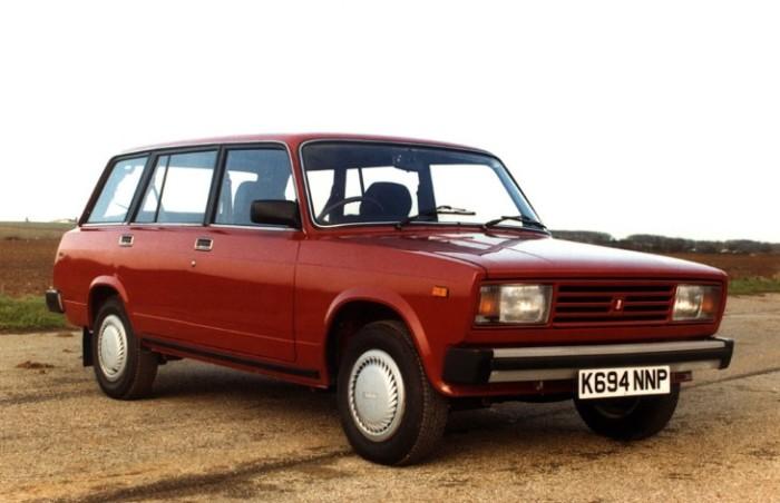 Lada Riva самый продаваемый советский автомобиль.
