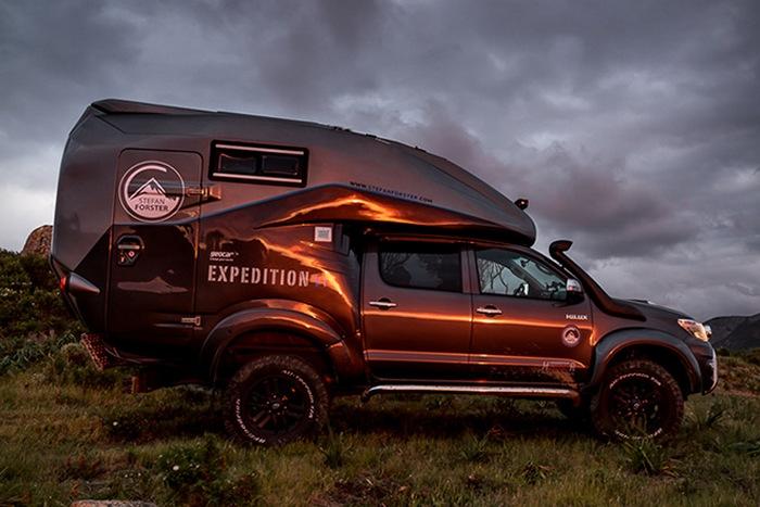 Hilux Expedition V1 - комфортный пикап для любых поездок.