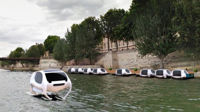 Эти такси-глайдеры будут бегать по воде.
