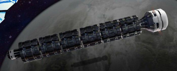 Космический поезд - отличный план, надо признать. Правда дорогой.
