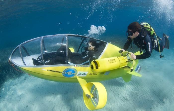 Кто не хочет исследовать морские глубины на персональной подводной лодке?