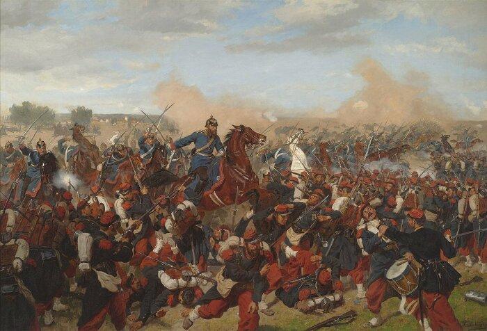Франко-прусская война стала мрачным прологом Первой мировой. /Фото: Twitter.