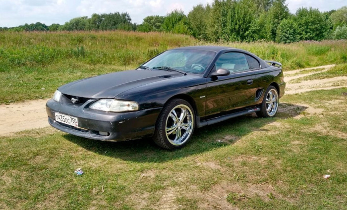 Ford Mustang. Отличный выбор даже сегодня.