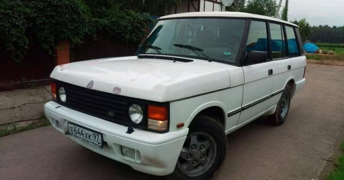 Range Rover Classic. Если нужна сила.
