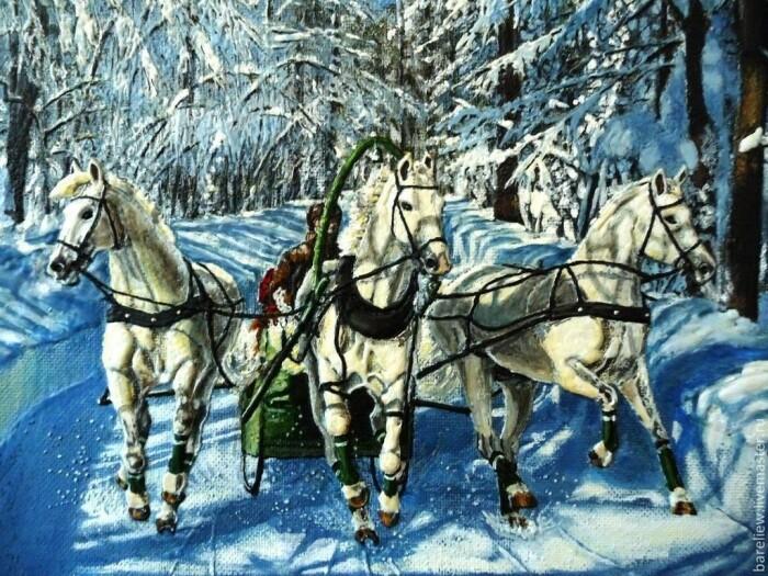 Тройка смотрит в разные стороны из-за инстинктов лошадей. /Фото: rbsmi.ru.