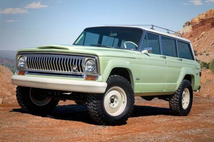 В путешествие с Jeep Wagoneer Roadtrip.