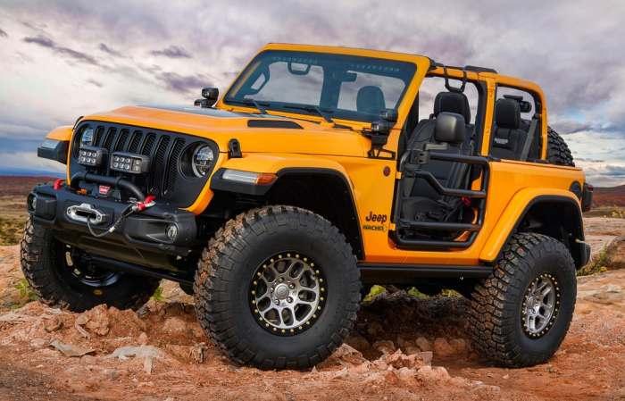 Выглядит неплохо этот Nacho Jeep.
