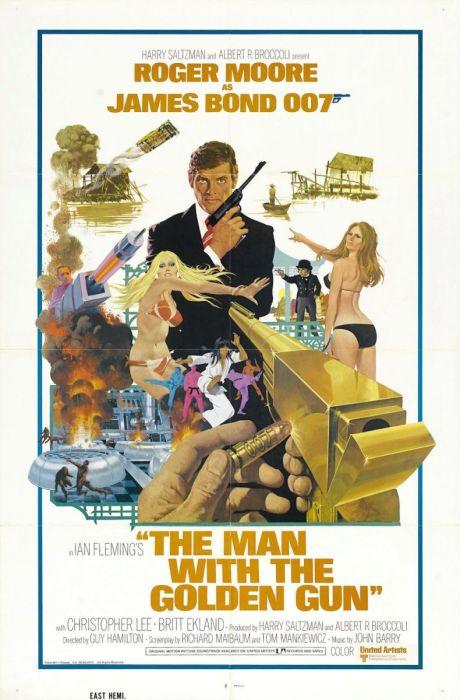 Почти провальный «Человек с золотым пистолетом» не спасли даже великолепные трюки.