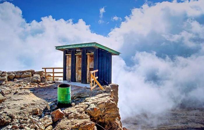 Высоко в горах. /Фото: onedio.com.
