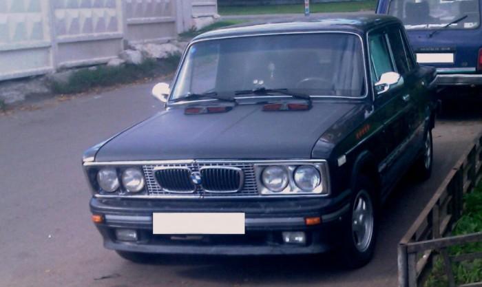 Когда хотелось баварца но был только ВАЗ-2106.
