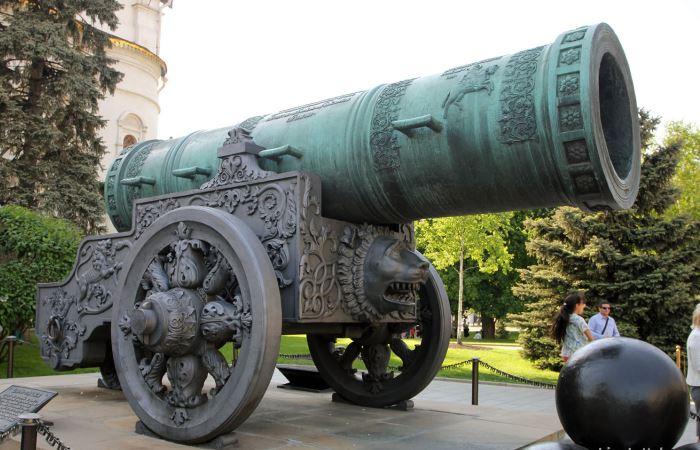Самые большие пушки в истории.