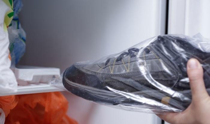 Обувь можно заморозить. /Фото: top10v.ru.