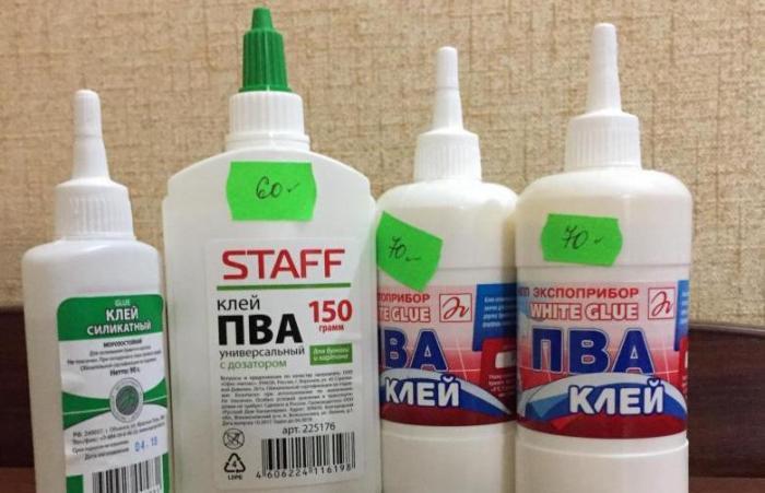 Понадобится клей ПВА. /Фото: youla.ru.