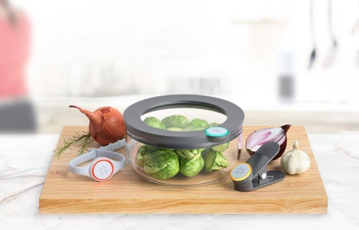 Умная посуда для тотального контроля в холодильнике.