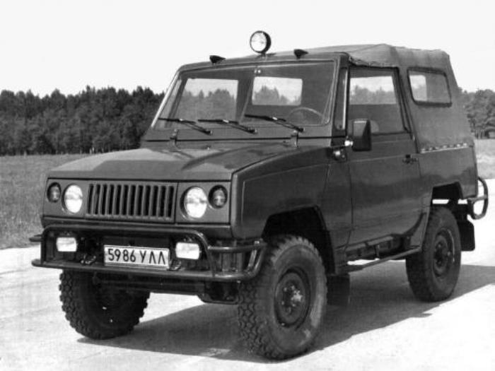 Улучшенная версия в лице УАЗ 3171.