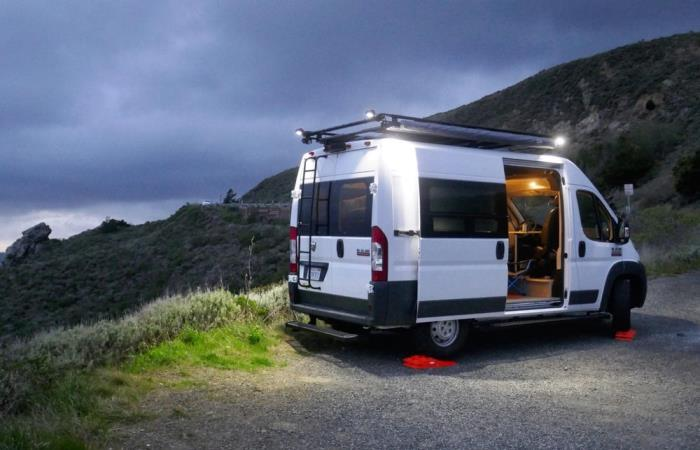 Универсальный фургон для путешествий.