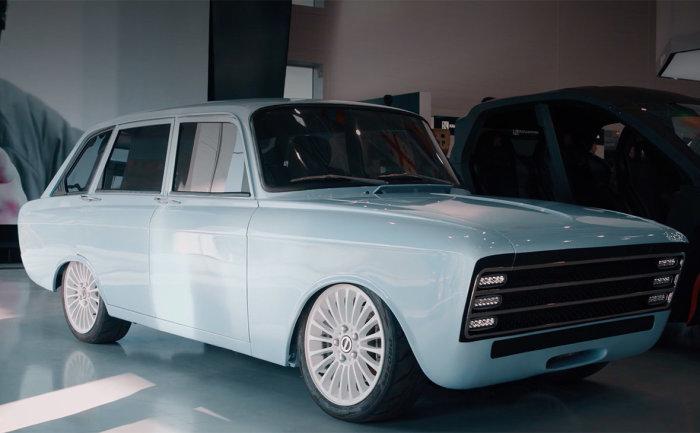 Дизайн у машины очень странный. /Фото: yandex.ru.