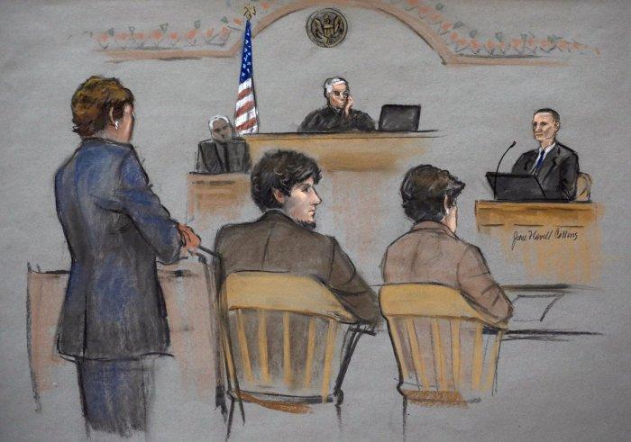 Зарисовки очень популярны в судах. /Фото: articles.syracuse.com