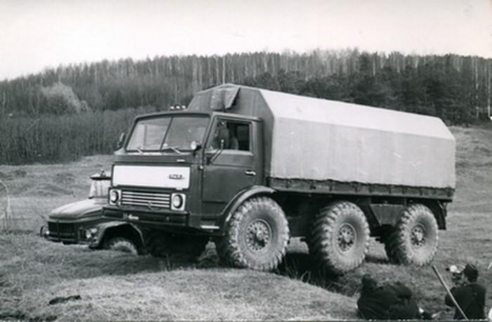 Интересная модель МАЗ, так и не попавшая в серию.