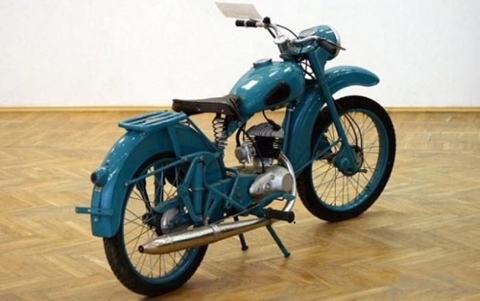 Народный мотоцикл из Беларуси.