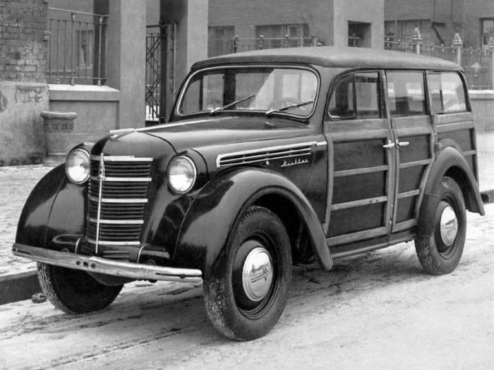 МЗМА Москвич 400/421 самый экономичный автомобиль в прямом смысле.