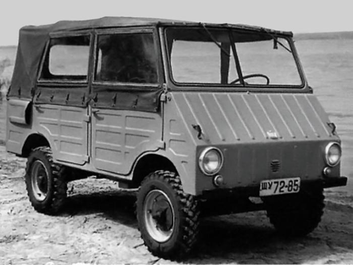 ЗАЗ-971 выглядит интересно.