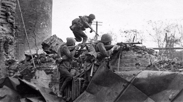 Штурмовые подразделения - важный элемент победы. /Фото: rvio.histrf.ru.