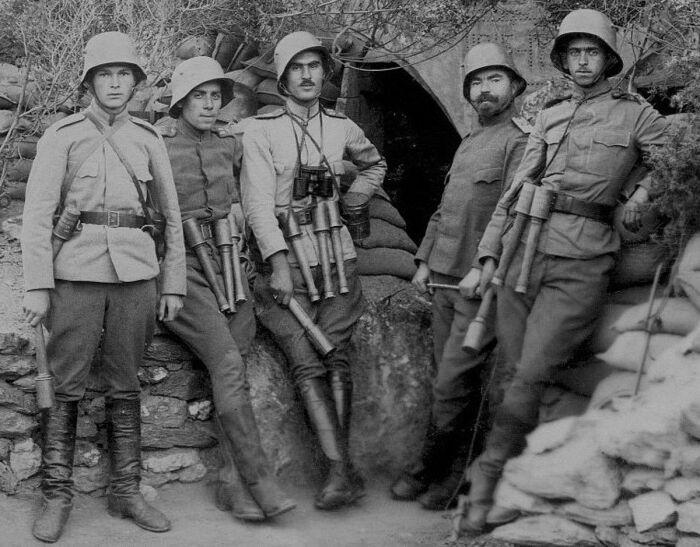 За основу был взят опыт стран-участниц Первой мировой войны. /Фото: pinterest.com.