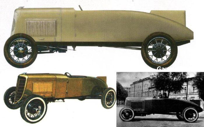 Первые гоночные ГАЗы были собраны энтузиастами.