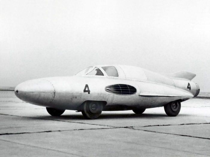 Реактивный ГАЗ-ТР побил все рекорды скорости.