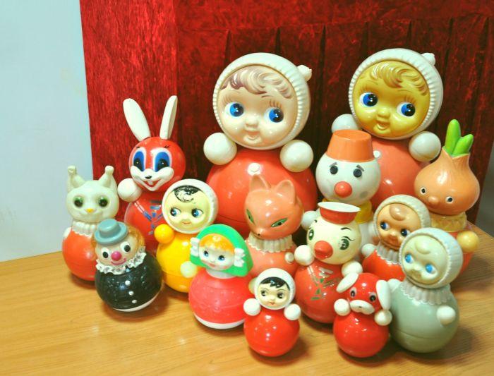 В СССР неваляшка была все также популярна. /Фото: yandex.net.