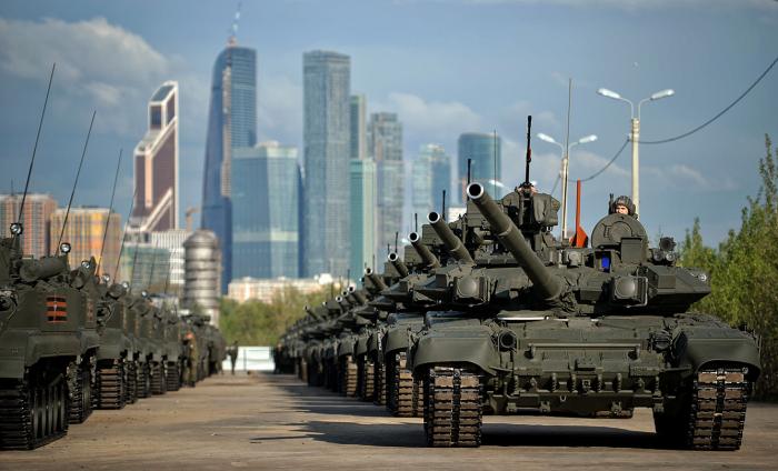 Большинство танков - советские. /Фото: discover24.ru.