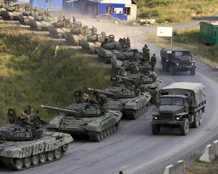 Россия - лидер по числу танков. /Фото:  goodfon.ru.