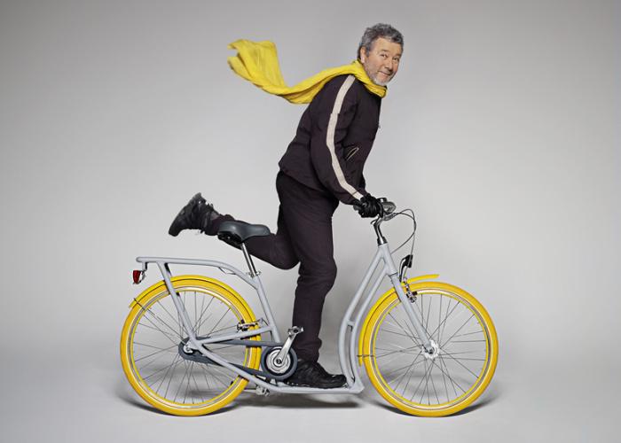 Велосипед-самокат Pibal  для самых отчаянных.