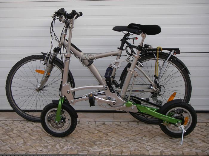 Велосипед, который поместиться везде.