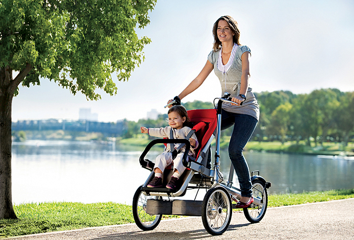 Велосипед Taga Bike для мам.