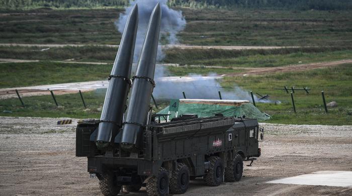 Стреляет в том числе ядерным оружием. /Фото: m.gazeta.ru.