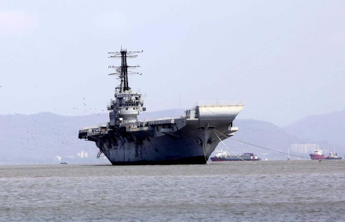 Новый индийский авианосец. /Фото: thenewsminute.com.
