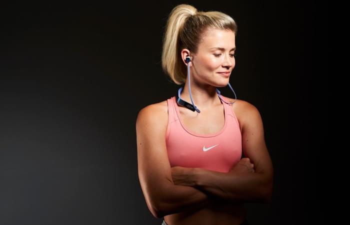 Новые наушники для любителей фитнеса.