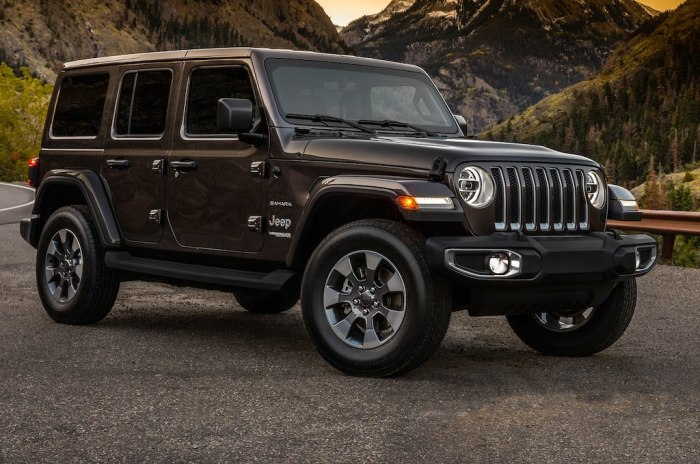 Живая легенда - Jeep Wrangler.