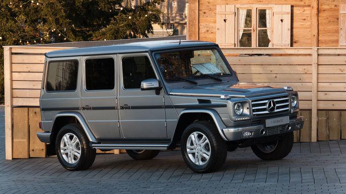 Отличный автомобиль - Mercedes-Benz G-wagen.