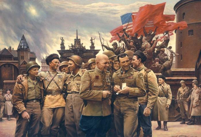Но всякая война заканчивается. /Фото: art-apple.ru.