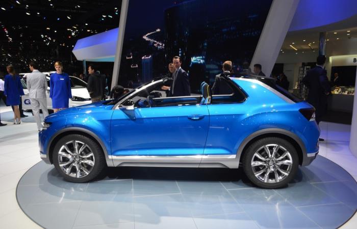 Удивительный гибрид VW T-Roc.
