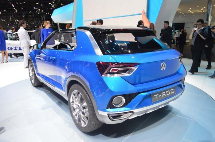 Трудно представить себе VW T-Roc по уши в грязи.