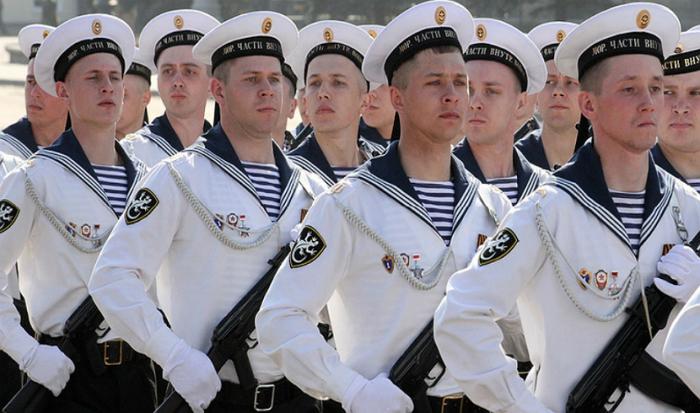 Три полоски на воротнике. /Фото: avangard.rosbalt.ru.