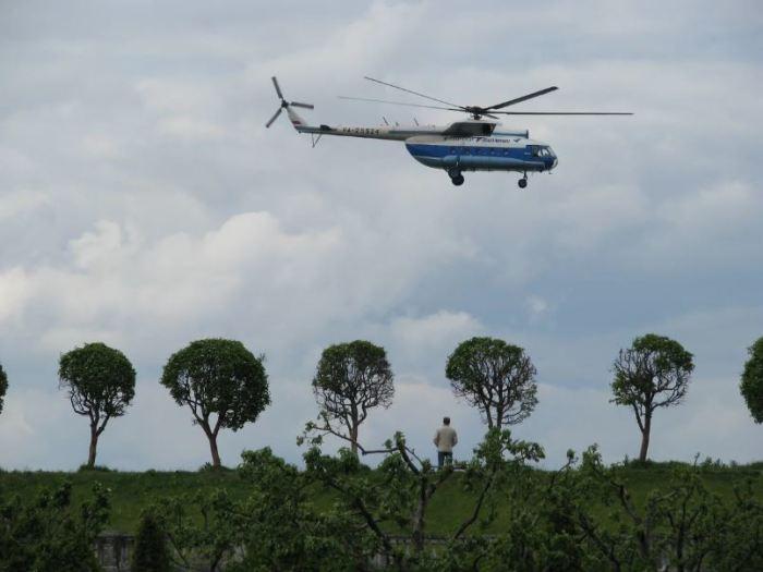 Вертолет все равно движется. /Фото: google.com.
