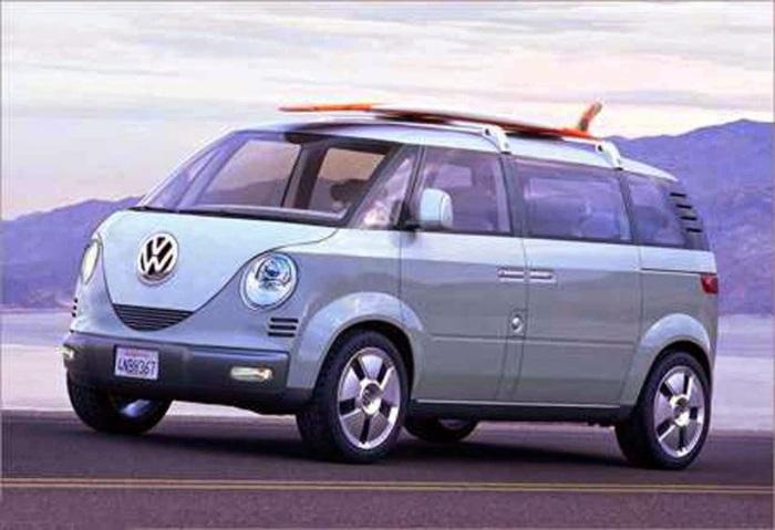 VW Van - символ эпохи Хиппи.