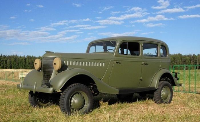 ГАЗ-61 специально для командования.